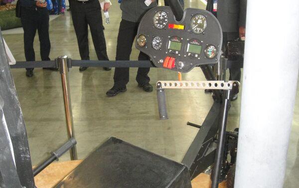 Ghế phi công của Mikron – phương án tiêu chuẩn tối giản. - Sputnik Việt Nam