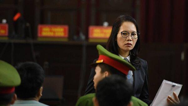 Phiên xử BS Hoàng Công Lương - Sputnik Việt Nam