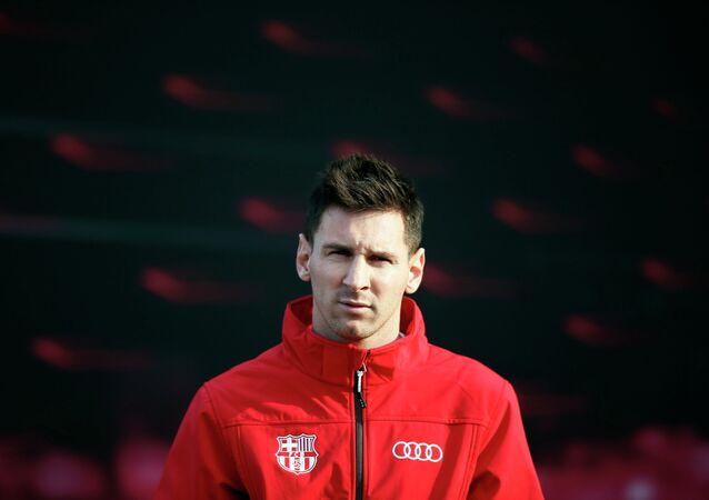 Tiền đạo đội tuyển Argentina Lionel Messi