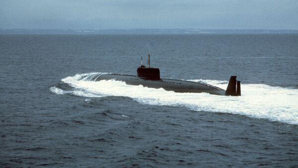 Tàu ngầm hạt nhân K-162 - Sputnik Việt Nam