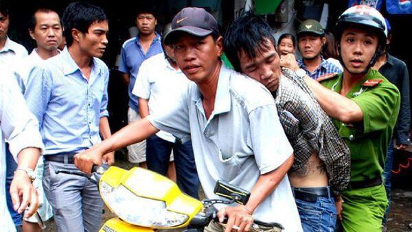 Tên cướp táo tợn trên đường ở TP.HCM đã bị công an và người dân bắt giữ - Sputnik Việt Nam