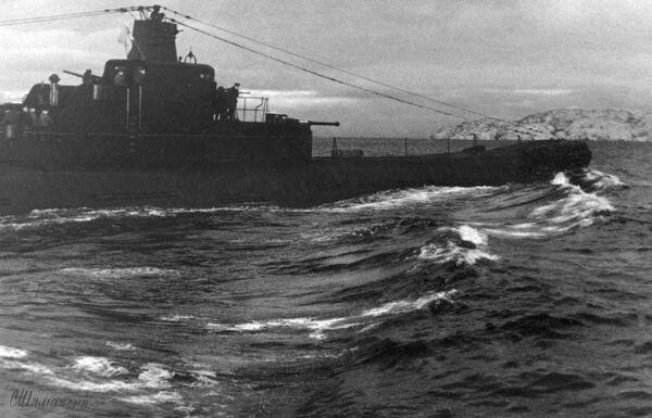 Tàu ngầm K-21 của Hạm đội Bắc thuộc Hải quân Liên Xô - Sputnik Việt Nam