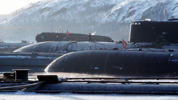Căn cứ tàu ngầm hạt nhân của Hạm đội Bắc - Sputnik Việt Nam
