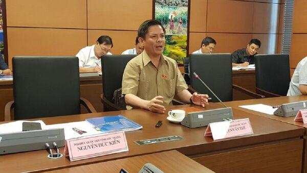 Bộ trưởng GTVT Nguyễn Văn Thể. - Sputnik Việt Nam