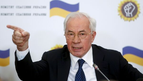 Cựu Thủ tướng Ukraina Nikolai Azarov - Sputnik Việt Nam