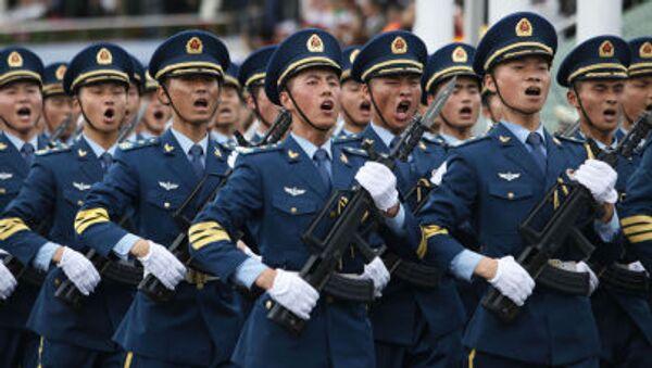 Quân đội Giải phóng nhân dân Trung Quốc tại một lễ duyệt binh - Sputnik Việt Nam