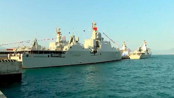 4 tàu hộ vệ tên lửa Gepard 3.9 của Hải quân Việt Nam - Sputnik Việt Nam