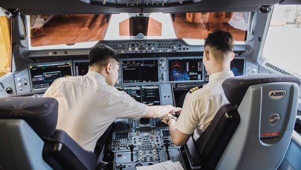 Đội ngũ phi công của Vietnam Airlines - Sputnik Việt Nam