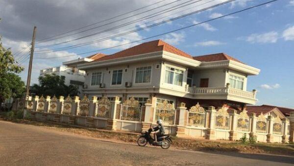 Trụ sở doanh nghiệp của gia đình ông Trần Bắc Hà tại Lào - Sputnik Việt Nam