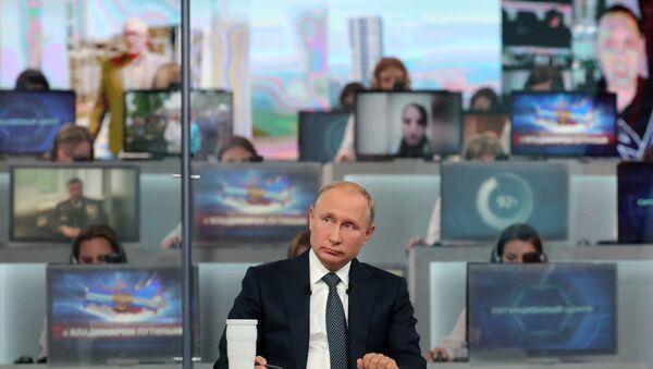 Giao lưu trực tuyến với Tổng thống Vladimir Putin - Sputnik Việt Nam