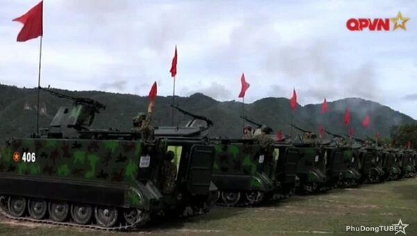 Việt Nam thử nghiệm cối tự hành - Sputnik Việt Nam