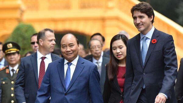 Chuyến thăm Việt Nam năm 2017 của Thủ tướng Justin Trudeau là cột mốc quan trọng trong quan hệ 45 năm giữa hai nước. - Sputnik Việt Nam