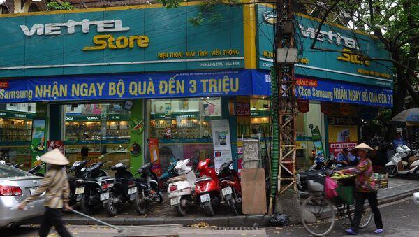 Магазин продукции компании Viettel в Ханое, Вьетнам - Sputnik Việt Nam