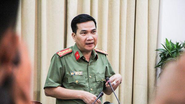 Đại tá Nguyễn Sỹ Quang, Trưởng phòng tham mưu Công an TP.HCM - Sputnik Việt Nam