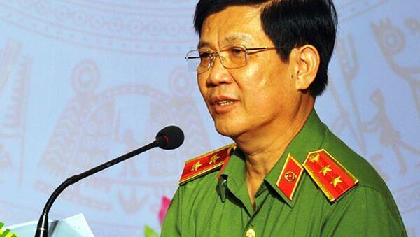 Trung tướng Nguyễn Văn Sơn - Thứ trưởng Bộ Công an - Sputnik Việt Nam