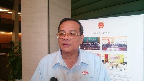 Ông Huỳnh Thanh Cảnh - Phó Bí thư Tỉnh uỷ, Trưởng đoàn ĐBQH tỉnh Bình Thuận - Sputnik Việt Nam