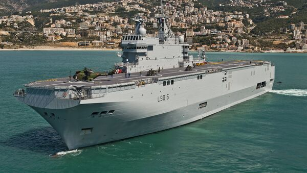 Tàu Pháp Dixmude - Sputnik Việt Nam
