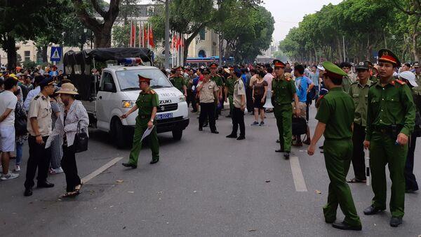Biểu tình phản đối thông qua Luật Đặc Khu tại Thủ đô Hà Nội - Sputnik Việt Nam