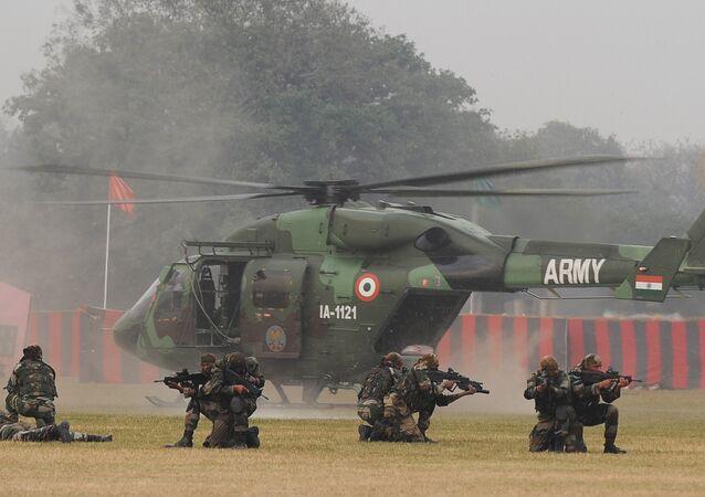 Trực thăng đa dụng HAL Dhruv của Không quân Ấn Độ
