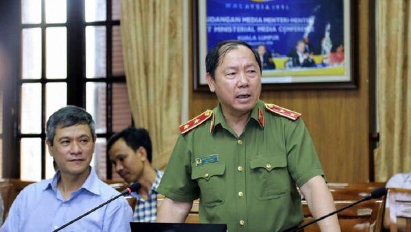 Trung tướng Hoàng Phước Thuận - Sputnik Việt Nam