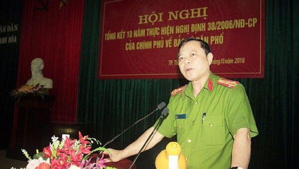 Đại tá Nguyễn Chí Phương, Trưởng Công an thành phố Thanh Hóa - Sputnik Việt Nam