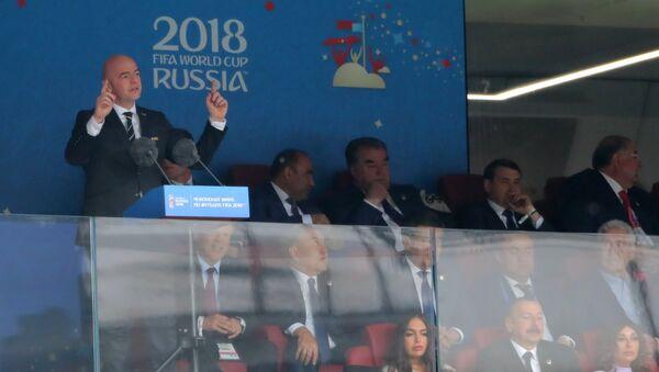 Chủ tịch Liên đoàn bóng đá quốc tế (FIFA) Gianni Infantino - Sputnik Việt Nam