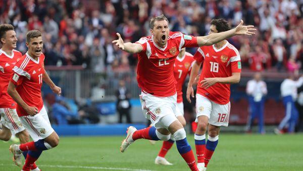 Trận đấu mở màn World Cup giữa Nga và Saudi Arabia - Sputnik Việt Nam