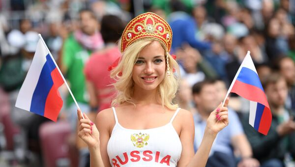 Fan bóng đá Nga - Sputnik Việt Nam