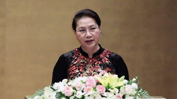 Chủ tịch Quốc hội Nguyễn Thị Kim Ngân. - Sputnik Việt Nam