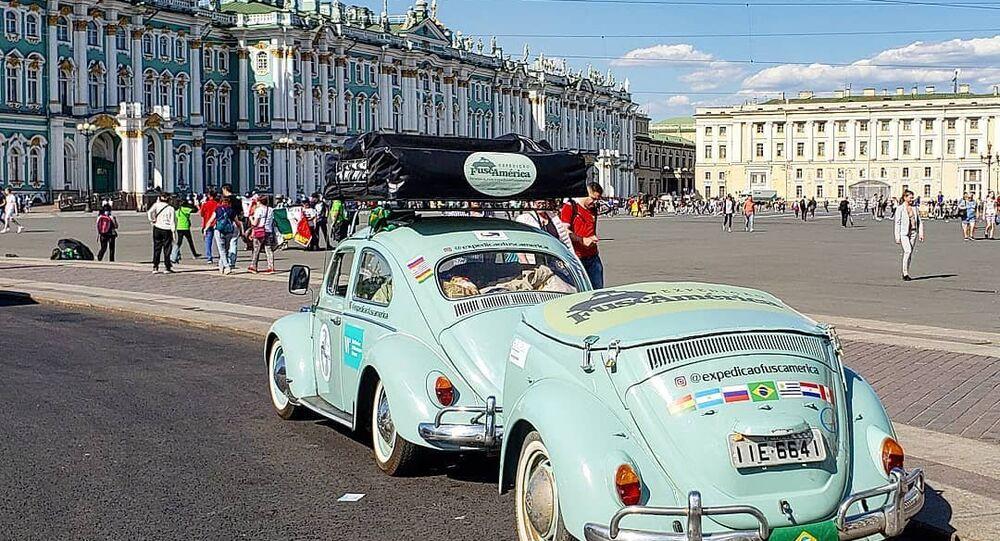 Xe Fuscamérica đến World Cup 2018 tại Nga