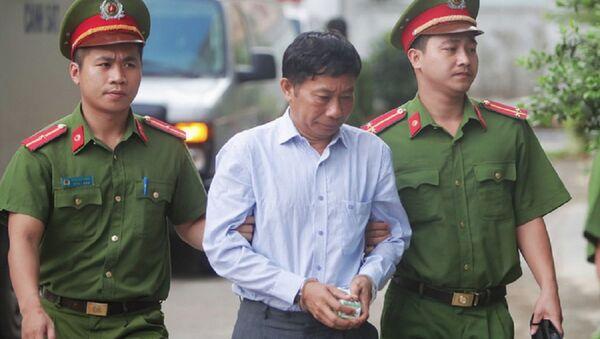 Bị cáo Ninh Văn Quỳnh nguyên Kế toán trưởng PVN - Sputnik Việt Nam