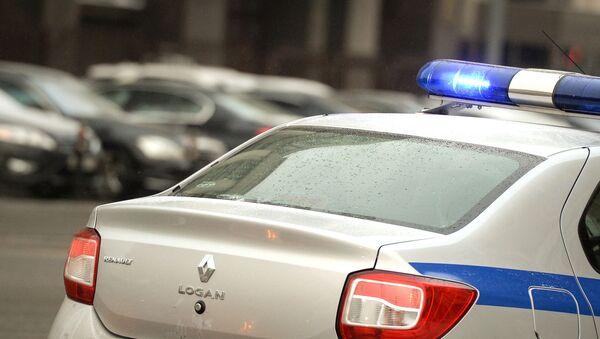 Полицейский автомобиль в России. Архивное фото - Sputnik Việt Nam