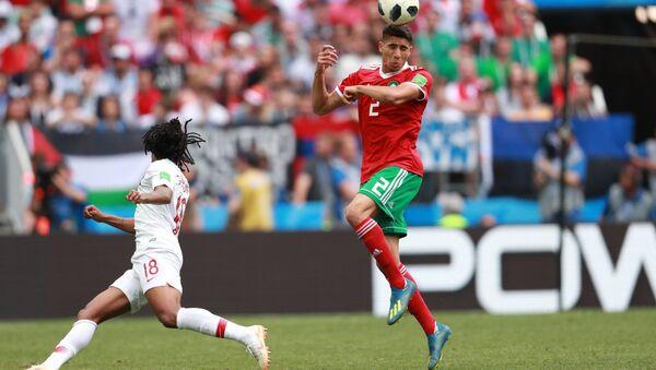 Trận đấu World Cup giữa Bồ Đào Nha và Morocco - Sputnik Việt Nam