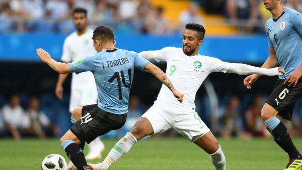 Trận đấu World Cup giữa Uruguay và Ả Rập Saudi - Sputnik Việt Nam