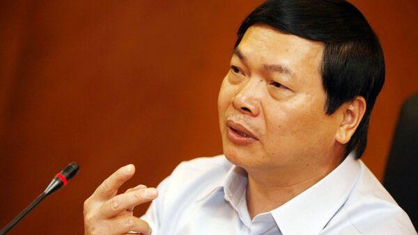Ông Vũ Huy Hoàng - Sputnik Việt Nam