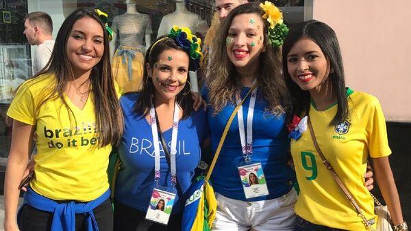 """nhóm Họ đang ở World Cup"""" (Elas na Copa) - Sputnik Việt Nam"""
