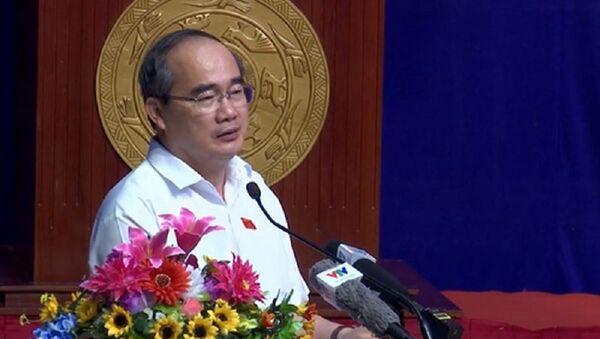 Ông Nguyễn Thiện Nhân - Bí thư Thành ủy Thành phố Hồ Chí Minh - Sputnik Việt Nam