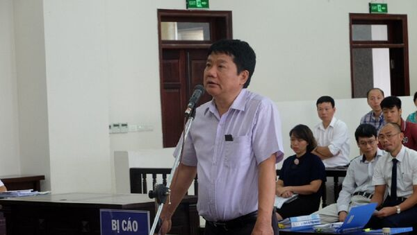 Ông Đinh La Thăng tự bào chữa tại tòa - Sputnik Việt Nam