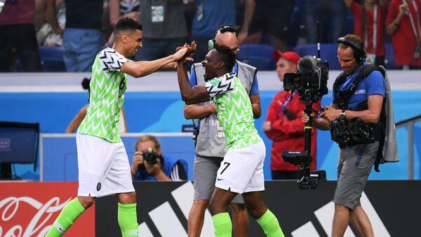 World Cup 2018: Đội tuyểnNigeria thắng đội Iceland - Sputnik Việt Nam