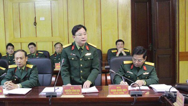 Chỉ huy trưởng Bộ CHQS tỉnh Hà Giang. Đại tá Nguyễn Công Dần - Sputnik Việt Nam