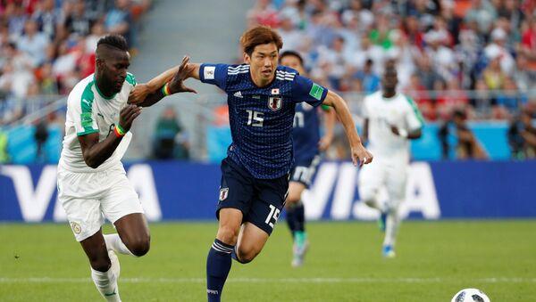 Trận đấu World Cup giữa Nhật Bản và Senegal - Sputnik Việt Nam