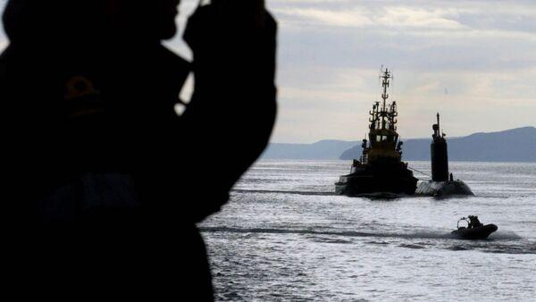 Tàu khu trục của Hải quân Hoàng gia Anh HMS Montrose - Sputnik Việt Nam