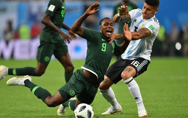 Trận đấu vòng bảng World Cup giữa đội tuyển Argentina và Nigeria - Sputnik Việt Nam
