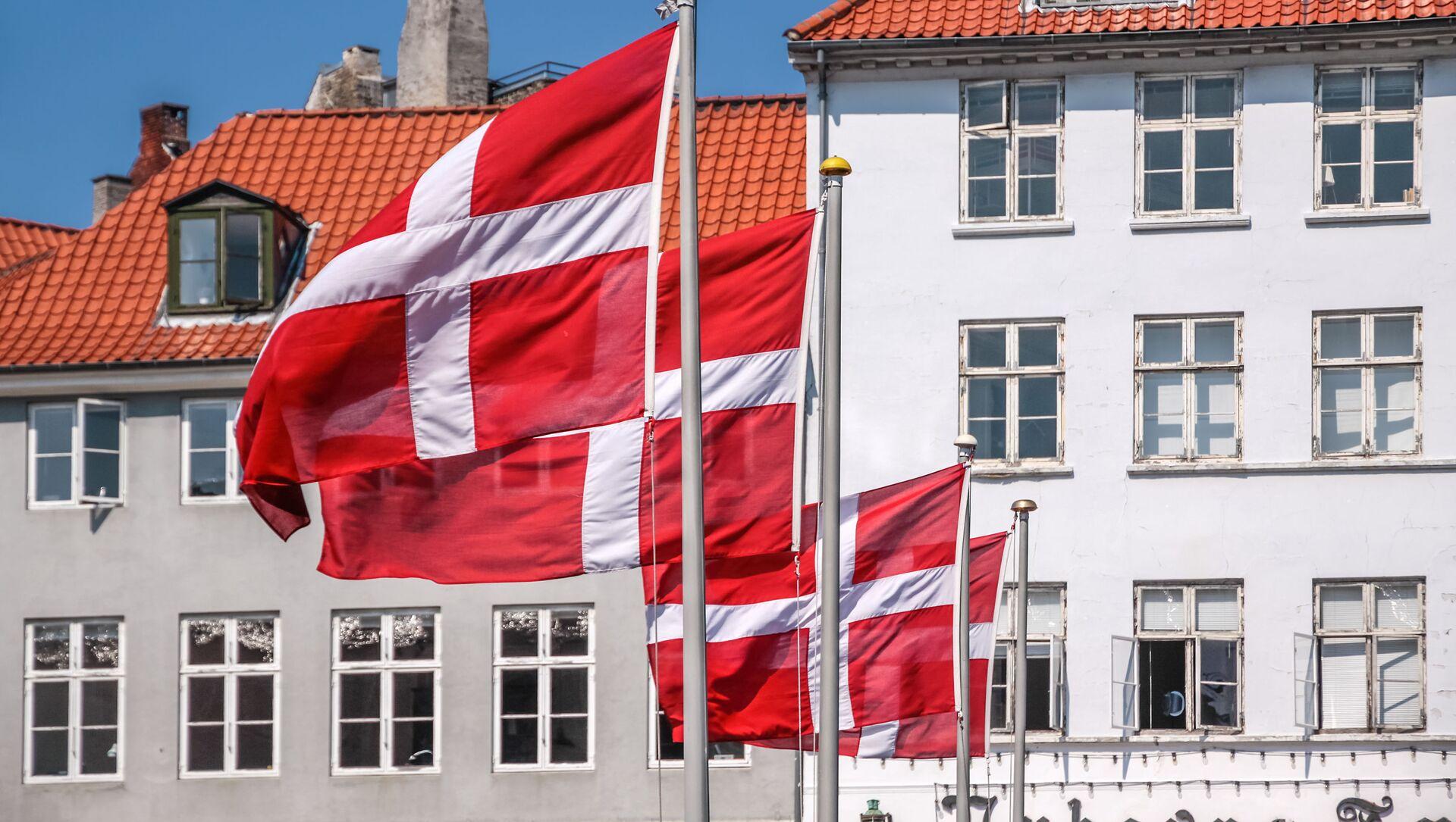 Quốc kỳ của Đan Mạch. - Sputnik Việt Nam, 1920, 31.05.2021
