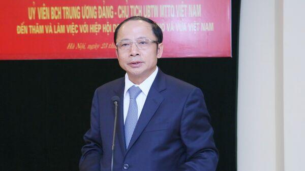 Đại biểu Quốc hội Nguyễn Văn Thân - Sputnik Việt Nam