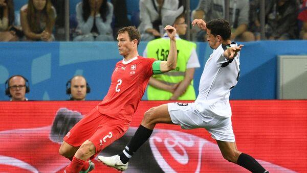 Trận đấu vòng bảng World Cup giữa đội tuyển Thụy Sĩ và Costa Rica - Sputnik Việt Nam