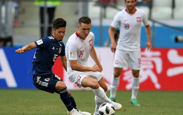 Trận đấu vòng bảng World Cup giữa đội tuyển Nhật Bản và Ba Lan - Sputnik Việt Nam