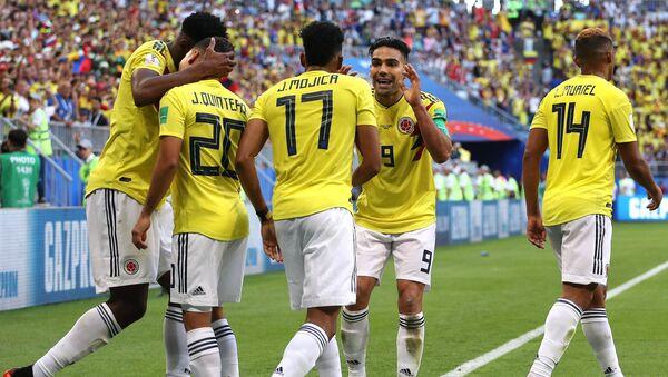 Trận đấu vòng bảng World Cup giữa đội tuyển Senegal và Colombia - Sputnik Việt Nam
