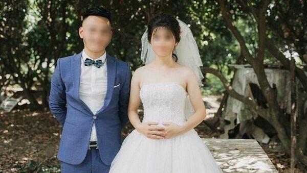 Vợ chồng anh L lúc mới cưới - Sputnik Việt Nam
