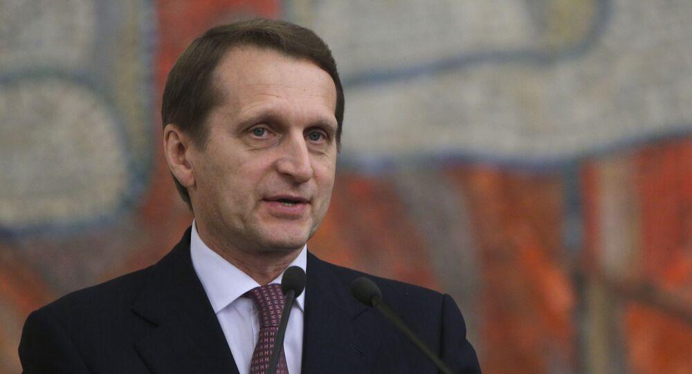 Chủ tịch Duma quốc gia Nga Sergei Naryshkin
